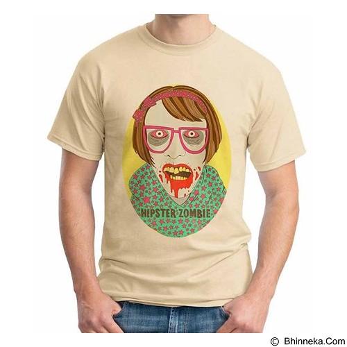 ORDINAL T-Shirt Hipster Zombie Size XL (Merchant) - Kaos Pria