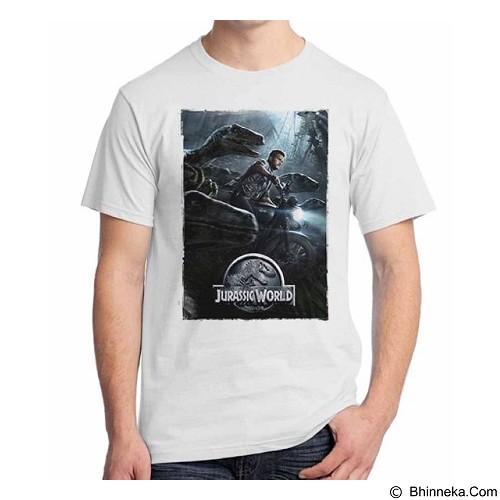 ORDINAL T-Shirt Jurassic World 08 Size XL (Merchant) - Kaos Pria