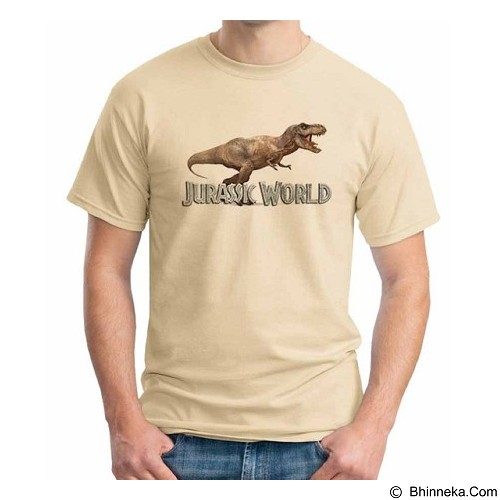 ORDINAL T-Shirt Jurassic World 11 Size XXL (Merchant) - Kaos Pria