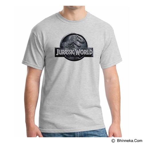 ORDINAL T-Shirt Jurassic World Logo 01 Size XXL (Merchant) - Kaos Pria