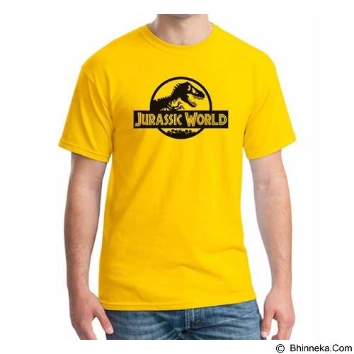 ORDINAL T-Shirt Jurassic World Logo 02 Size M (Merchant) - Kaos Pria