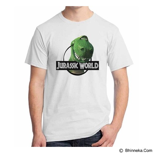 ORDINAL T-Shirt Jurassic World Parody 01 Size L (Merchant) - Kaos Pria