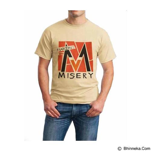 ORDINAL T-Shirt Maroon 5 06 Size XXL (Merchant) - Kaos Pria