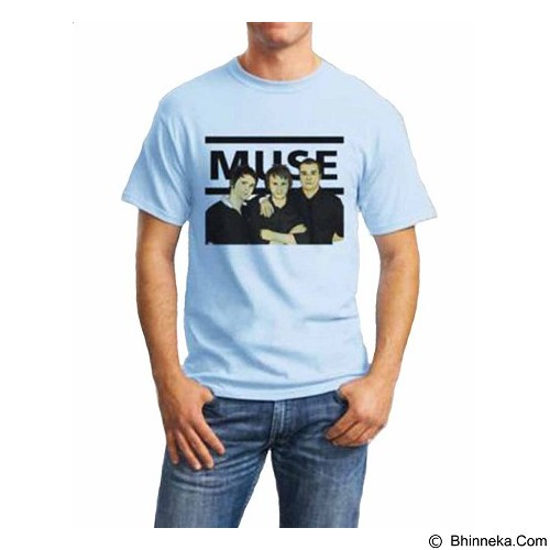 ORDINAL T-Shirt Muse 03 Size XL (Merchant) - Kaos Pria