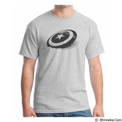 ORDINAL T-Shirt New Captain America Logo 06 Size ML (Merchant) - Kaos Pria