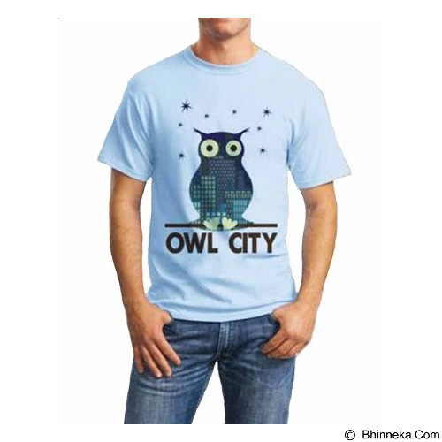 ORDINAL T-Shirt Owl City 03 Size XL (Merchant) - Kaos Pria