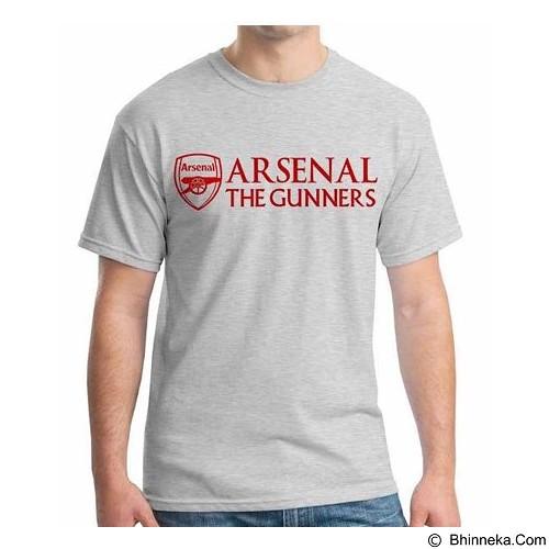 ORDINAL T-Shirt Premiere League Arsenal 03 Size M (Merchant) - Kaos Pria