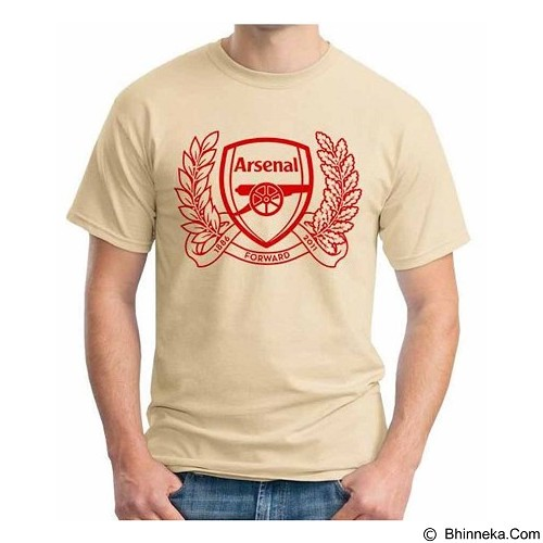 ORDINAL T-Shirt Premiere League Arsenal 07 Size XXL (Merchant) - Kaos Pria