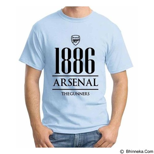 ORDINAL T-Shirt Premiere League Arsenal Year Size XXL (Merchant) - Kaos Pria