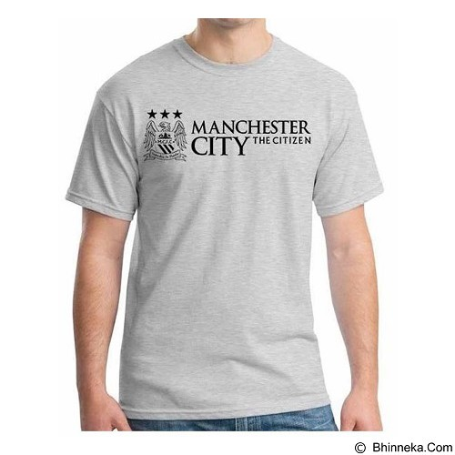 ORDINAL T-Shirt Premiere League Manchester City 02 Size XXL (Merchant) - Kaos Pria