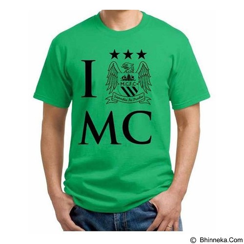 ORDINAL T-Shirt Premiere League Manchester City 05 Size S (Merchant) - Kaos Pria