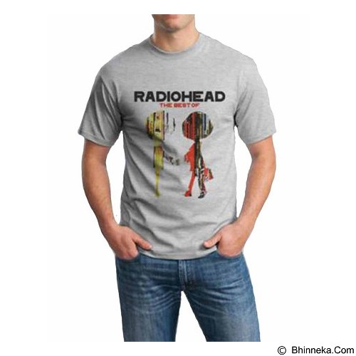 ORDINAL T-Shirt Radiohead 03 Size ML (Merchant) - Kaos Pria