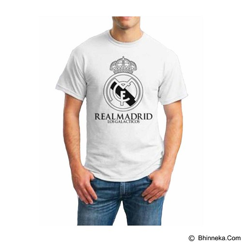 ORDINAL T-Shirt Real Madrid 01 Size L (Merchant) - Kaos Pria