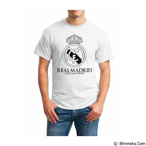 ORDINAL T-Shirt Real Madrid 01 Size S (Merchant) - Kaos Pria