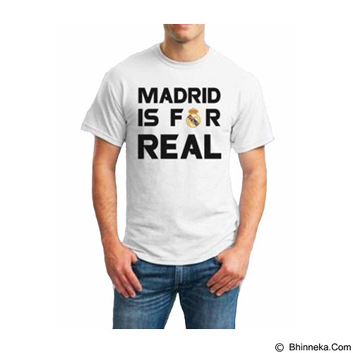 ORDINAL T-Shirt Real Madrid 04 Size L (Merchant) - Kaos Pria