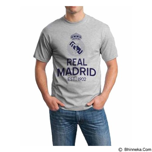ORDINAL T-Shirt Real Madrid 05 Size L (Merchant) - Kaos Pria