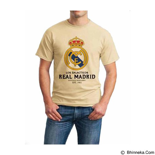 ORDINAL T-Shirt Real Madrid 06 Size S (Merchant) - Kaos Pria