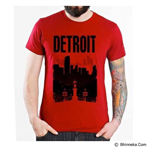 ORDINAL T-Shirt Robocop Detroit Size M (Merchant) - Kaos Pria