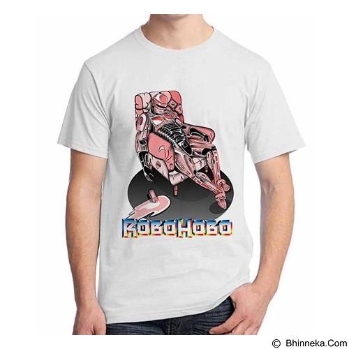 ORDINAL T-Shirt Robocop Drunk 01 Size M (Merchant) - Kaos Pria