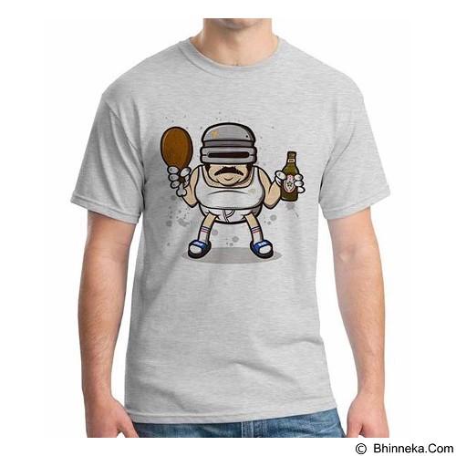 ORDINAL T-Shirt Robocop Drunk 02 Size S (Merchant) - Kaos Pria