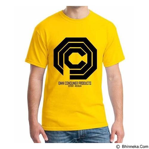 ORDINAL T-Shirt Robocop Logo Size S (Merchant) - Kaos Pria