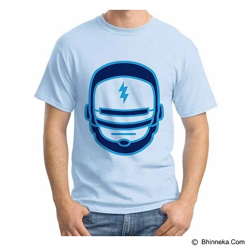 ORDINAL T-Shirt Robocop Mask Size ML (Merchant) - Kaos Pria