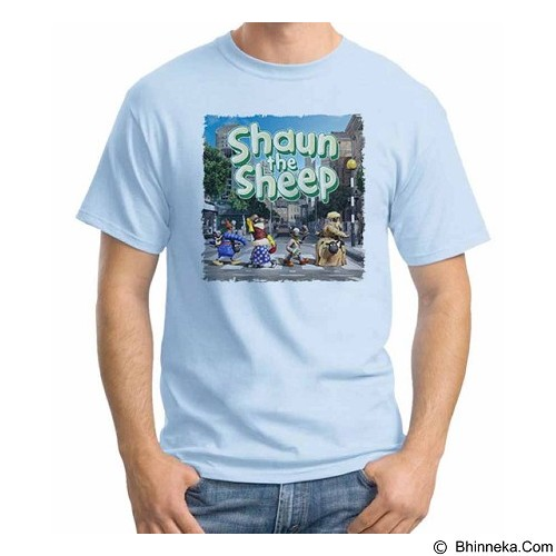 ORDINAL T-Shirt Shaun The Sheep 03 Size ML (Merchant) - Kaos Pria