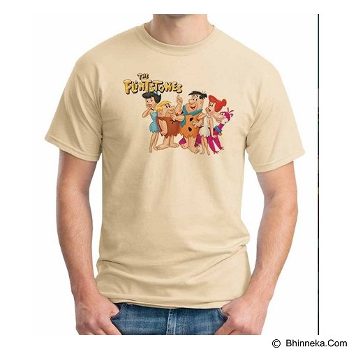 ORDINAL T-Shirt The Flintstones Size M (Merchant) - Kaos Pria