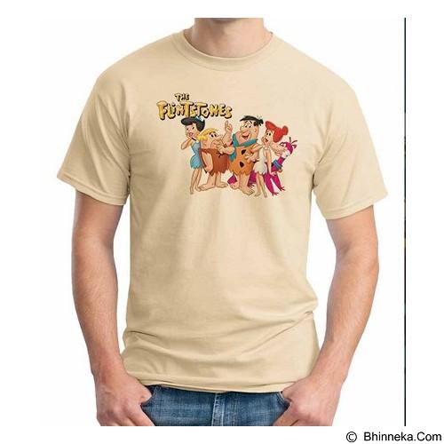 ORDINAL T-Shirt The Flintstones Size ML (Merchant) - Kaos Pria