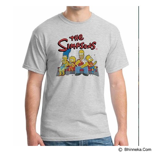 ORDINAL T-Shirt The Simpsons Size L (Merchant) - Kaos Pria