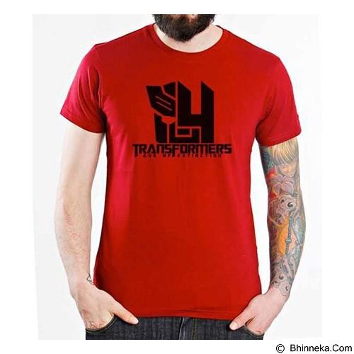 ORDINAL T-Shirt Transformer Logo AOE 03 Size L (Merchant) - Kaos Pria