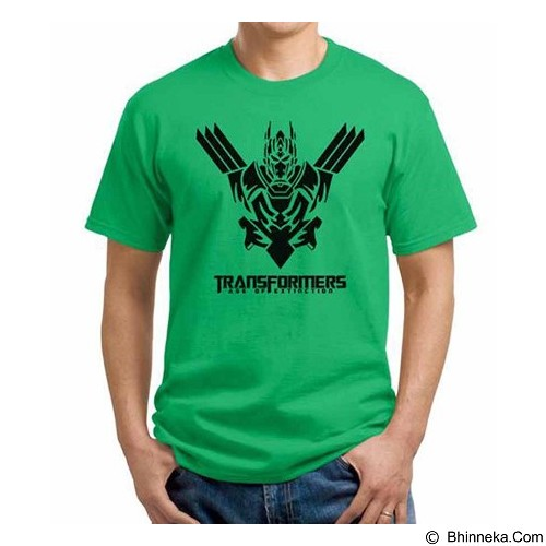 ORDINAL T-Shirt Transformer Logo AOE 04 Size ML (Merchant) - Kaos Pria