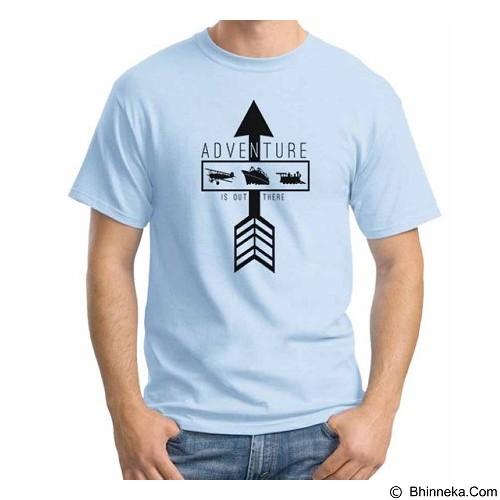 ORDINAL T-Shirt Travel Quotes 12 Size ML (Merchant) - Kaos Pria