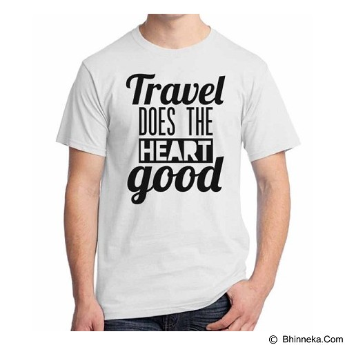 ORDINAL T-Shirt Travel Quotes 16 Size ML (Merchant) - Kaos Pria