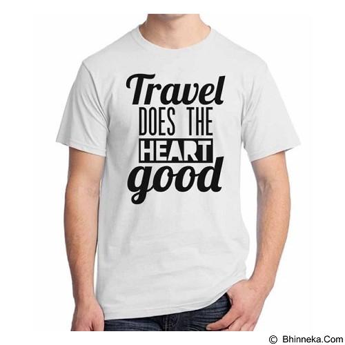 ORDINAL T-Shirt Travel Quotes 16 Size ML (Merchant) - Kaos Pria