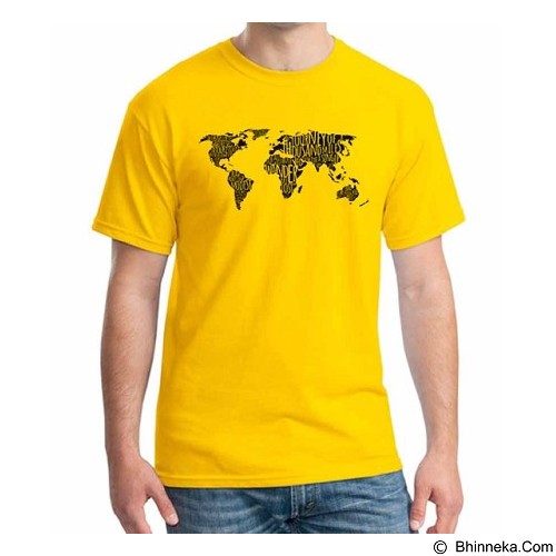 ORDINAL T-Shirt Travel Quotes 17 Size XL (Merchant) - Kaos Pria