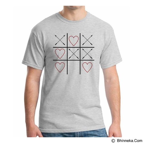 ORDINAL T-Shirt Typhography Love 04 Size XL (Merchant) - Kaos Pria