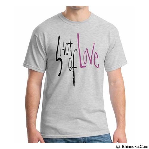 ORDINAL T-Shirt Typhography Love 13 Size M (Merchant) - Kaos Pria