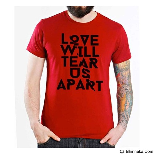 ORDINAL T-Shirt Typhography Love 14 Size M (Merchant) - Kaos Pria