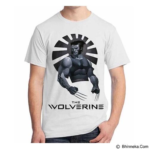 ORDINAL T-Shirt Wolverine 03 Size L (Merchant) - Kaos Pria
