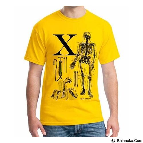 ORDINAL T-Shirt Wolverine 05 Size M (Merchant) - Kaos Pria