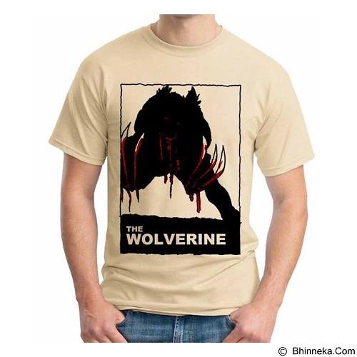 ORDINAL T-Shirt Wolverine 06 Size L (Merchant) - Kaos Pria