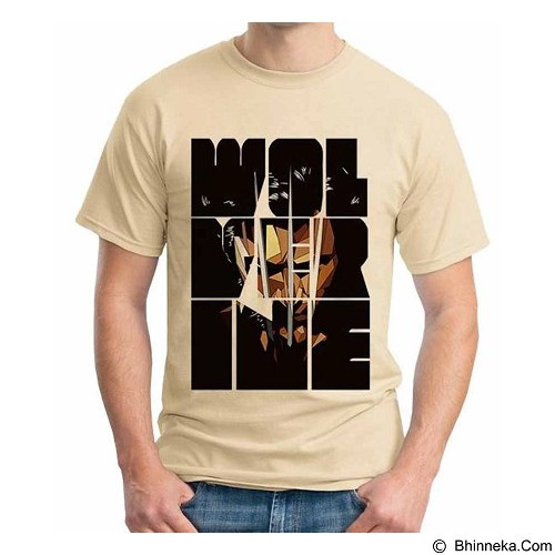 ORDINAL T-Shirt Wolverine 09 Size ML (Merchant) - Kaos Pria