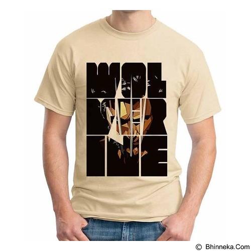 ORDINAL T-Shirt Wolverine 09 Size ML (Merchant) - Kaos Pria