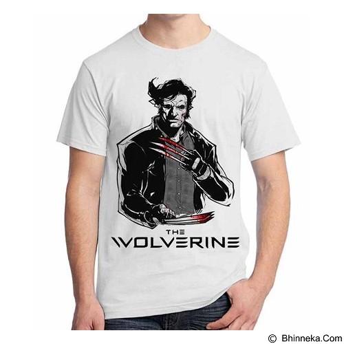 ORDINAL T-Shirt Wolverine 11 Size ML (Merchant) - Kaos Pria