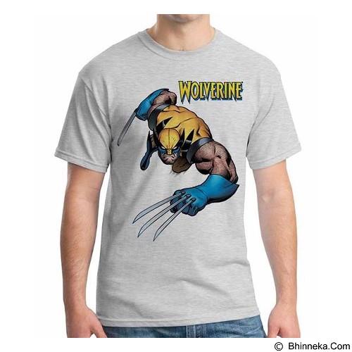 ORDINAL T-Shirt Wolverine 12 Size ML (Merchant) - Kaos Pria