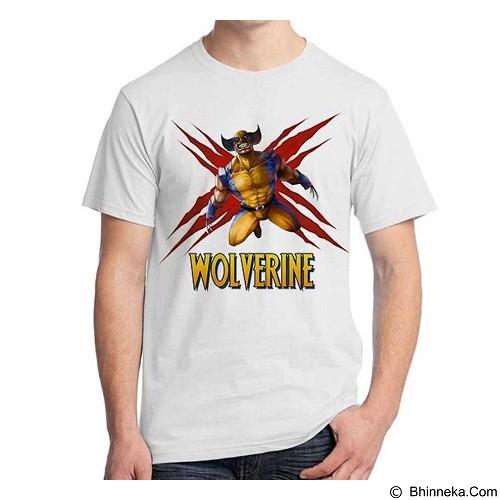 ORDINAL T-Shirt Wolverine 14 Size S (Merchant) - Kaos Pria