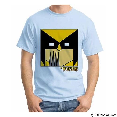 ORDINAL T-Shirt Wolverine 17 Size XL (Merchant) - Kaos Pria