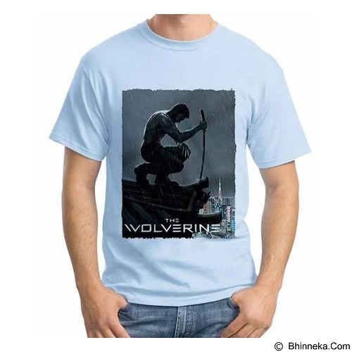 ORDINAL T-Shirt Wolverine 18 Size XXL (Merchant) - Kaos Pria
