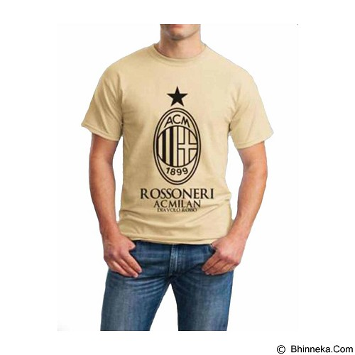 ORDINAL T-shirt AC Milan 01 Size ML (Merchant) - Kaos Pria